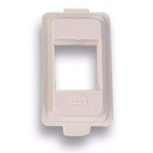 ADATTATORE PER PRESE RJ11 - RJ45 SERIE  BTICINO MAGIC INTERNO BIANCO COMPATIBILE PRESE KEYSTONE