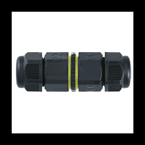 GIUNZIONE DIRITTA IMPERMEBILE IP68 BIPOLARE 0,5 - 2,5MM PER FARI LED WATERPROOF TERMINAL CABLE CONNECTORS IP68